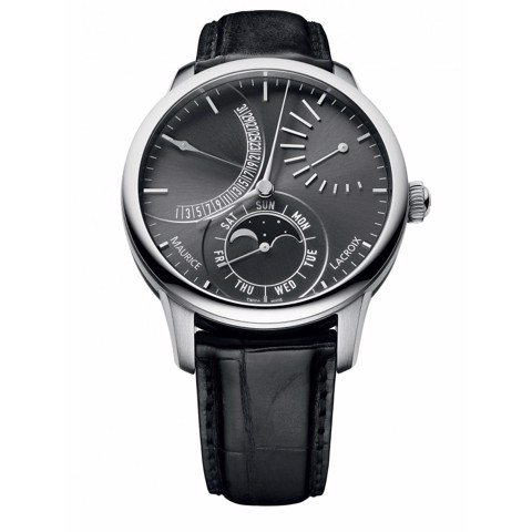Đồng hồ Maurice Lacroix Masterpiece Lune Retrograde MP6528-SS001-330-1