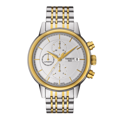 Đồng hồ Tissot Carson Automatic Chronograph Gold T085.427.22.011.00