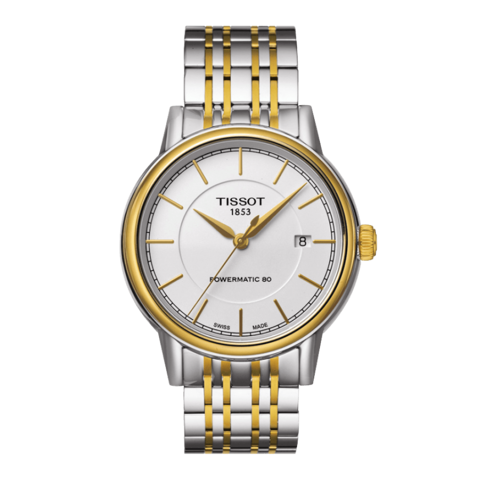 Đồng hồ Tissot Carson Automatic Powermatic 80 Gold T085.407.22.011.00