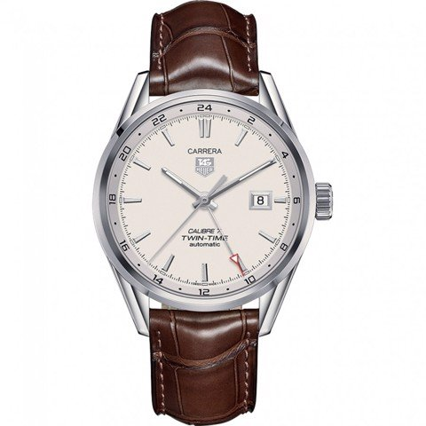 Đồng Hồ TAG Heuer Automatic Carrera Calibre 7 Twin Time GMT WAR2011.FC6291