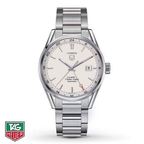Đồng Hồ TAG Heuer Automatic Carrera Calibre 7 Twin Time GMT WAR2011.BA0723