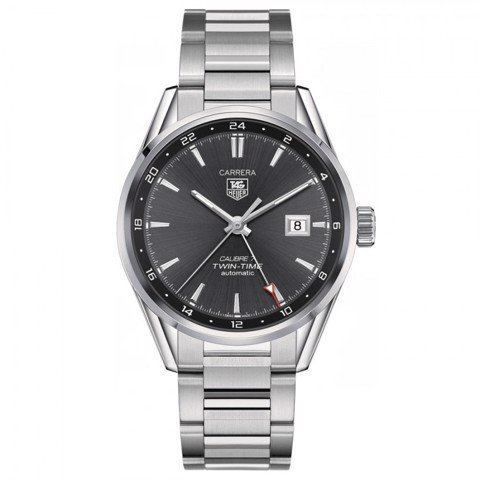 Đồng Hồ TAG Heuer Automatic Carrera Calibre 7 Twin Time GMT WAR2012.BA0723