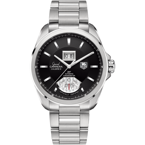 Đồng Hồ TAG Heuer Grand Carrera Calibre 8 RS Automatic Grande Date GMT WAV5111.BA0901