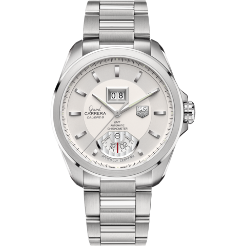 Đồng Hồ TAG Heuer Grand Carrera Calibre 8 RS Automatic Grande Date GMT WAV5112.BA0901