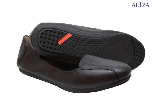 Giày bệt chun chất liệu da dê