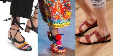 7 thiết kế giày nữ khuynh đảo mùa xuân 2016