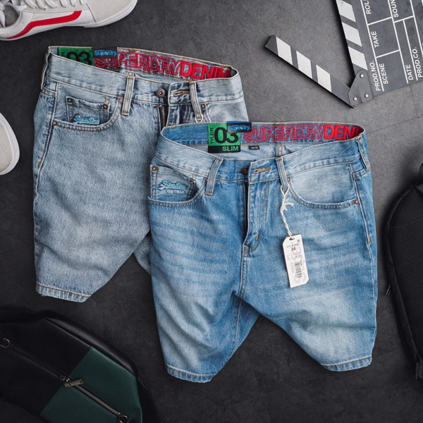 Short Jean SUPERDRY 2 Màu