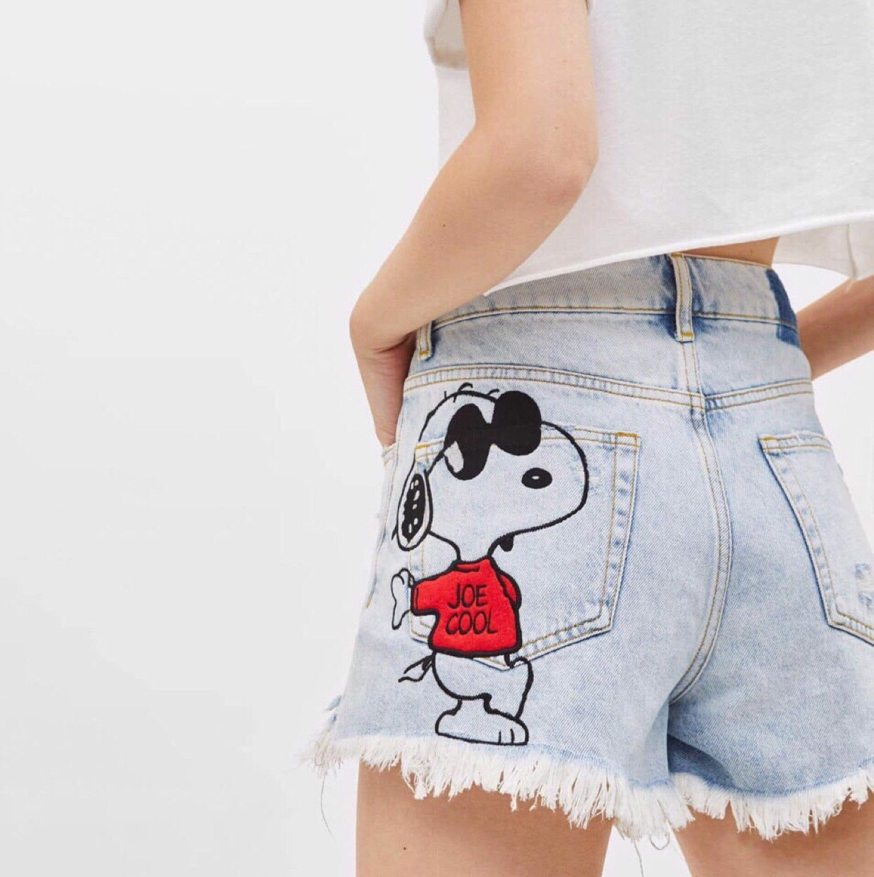 Short Jean BERSKHA Snoopy Dog