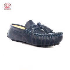 GIÀY LƯỜI BÉ TRAI Crown Space UK George Louis Moccasin CRUK440 Size 26-36