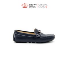 GIÀY LƯỜI BÉ TRAI Crown Space UK George Louis Moccasin CRUK443 Size 26-36