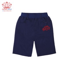 Quần ngố bé trai Crown Kids Fashion Shorts CKBS2690304