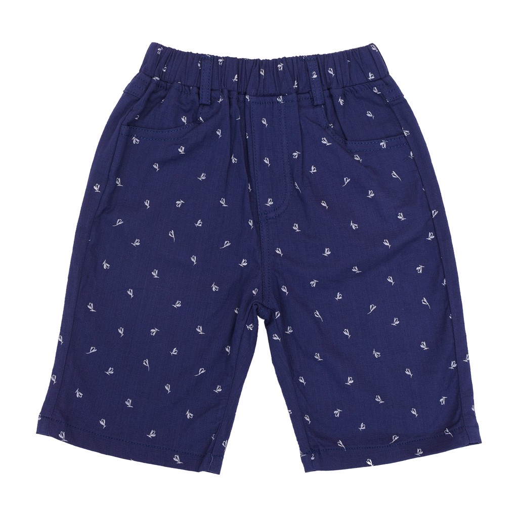 Quần ngố bé trai Crown Kids Fashion Shorts CKBS2690203