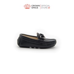 GIÀY LƯỜI BÉ TRAI Crown Space UK George Louis Moccasin CRUK445 Size 26 - 36