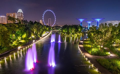 Vé Gardens by the Bay - tham quan Flower Dome & Cloud Forest