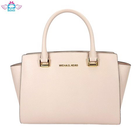 Túi Michael Kors Selma Saffiano Leather Medium Satchel