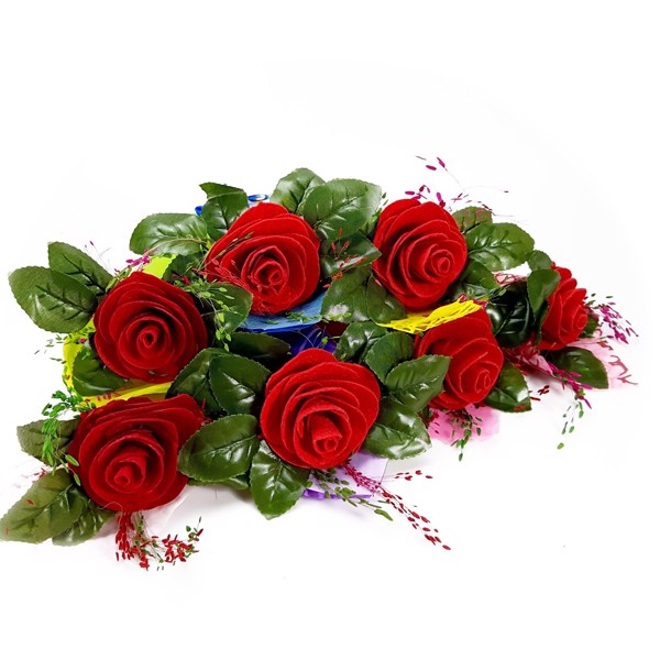 Hoa hồng đỏ tượng trưng cho tình yêu nồng cháy