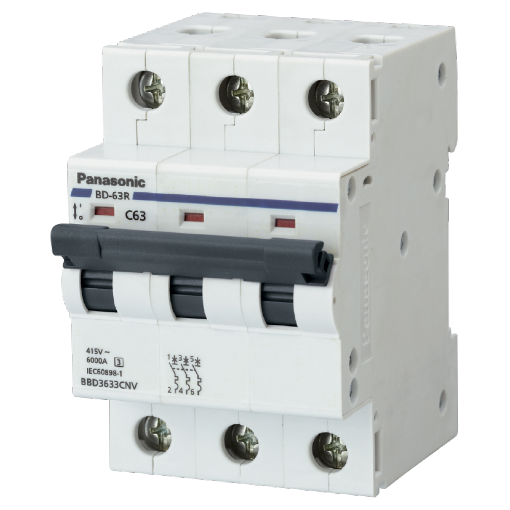 Automatic Circuit Breakers Din BBD3503CNV/ BBD3633CNV