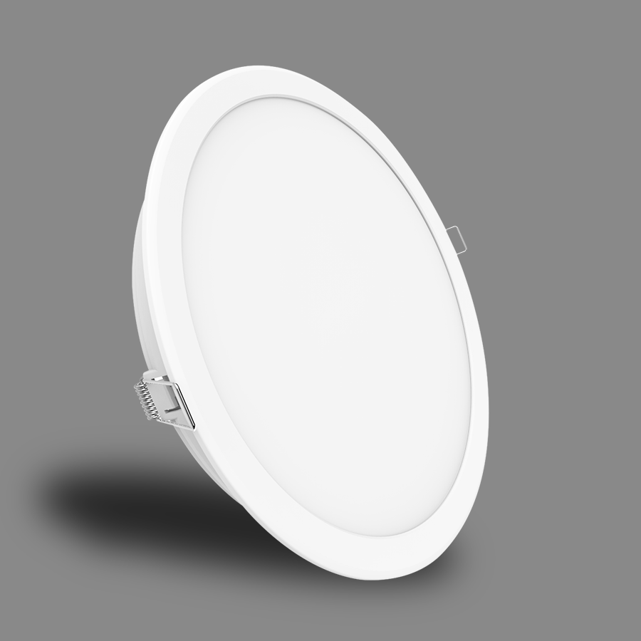 Đèn LED Downlight Eco Series 24W NED243 Ánh Sáng Vàng - Angel 120°