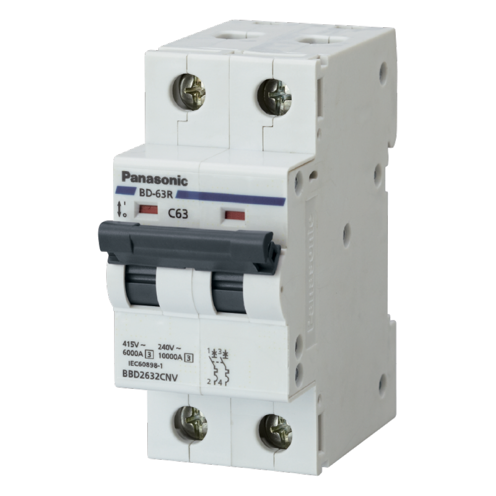 Automatic Circuit Breakers Din BBD2502CNV/BBD2632CNV