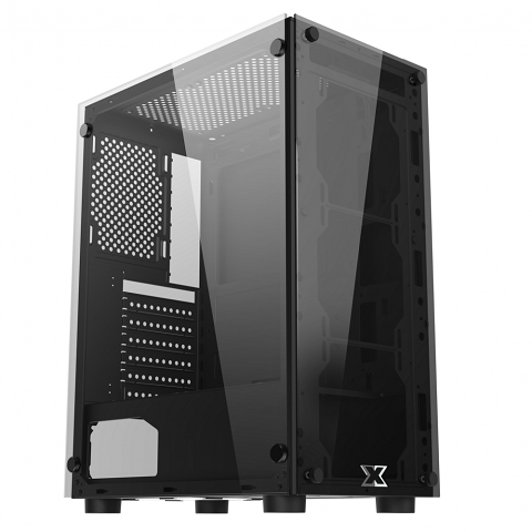 Case XIGMATEK HERO (EN45136) - ATX, 2 SIDE TEMPERED GLASS ( 3 Fan)