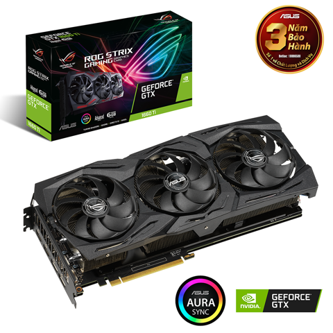 Asus Rog Strix Geforce® Gtx 1660 Ti Advanced Edition 6GB Gddr6