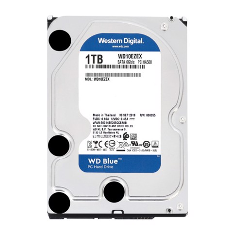 Wd Blue 1Tb 64Mb Cache
