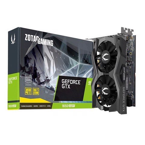 VGA Zotac GTX 1650 Super 4G GDDR6 Gaming Twin Fan
