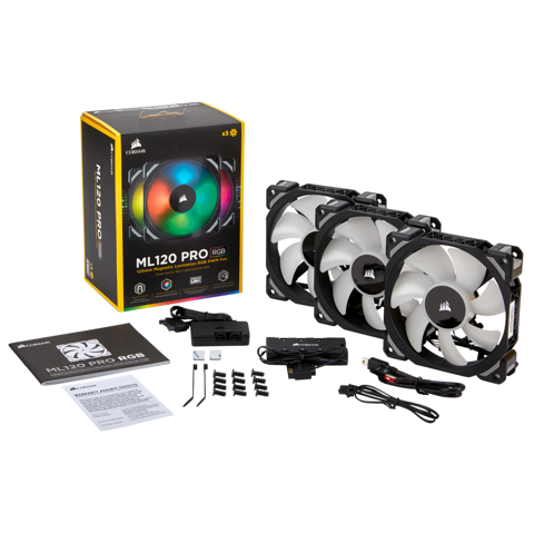 Corsair Ml120 RGB 3Fan