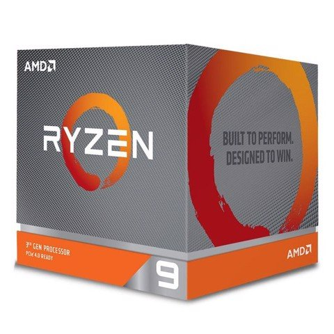AMD Ryzen 9 3900X, with Wraith Prism cooler/ 3.8 GHz (4.6 GHz with boost) / 70MB / 12 cores 24 threads /105W / AM4