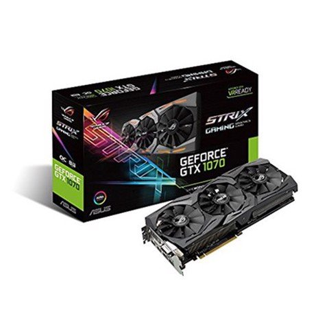 ASUS GTX 1070 ROG STRIX GAMING 8GB 256Bit DDR5