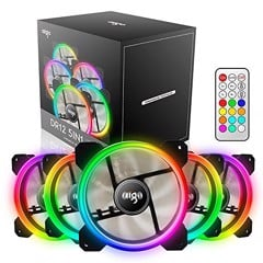 Aigo DR12 5IN1 RGB 12cm Kit 5 Fan + Hub