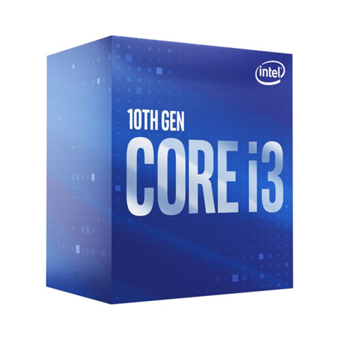 Intel Core i3 10100F (3.60 Up to 4.30GHz, 6M, 4 Cores 8 Threads) (Không GPU)