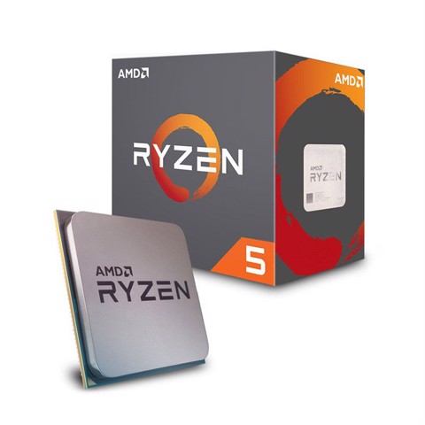 AMD Ryzen 5 2600 6 Cores 12 Threads (3.4 GHz 3.9 GHz Turbo)