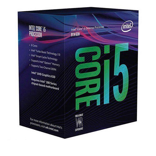 INTEL CORE i5 9600KF (3.7-4.6Ghz, 6C/6T, 9MB, 95W, LGA1151V2)