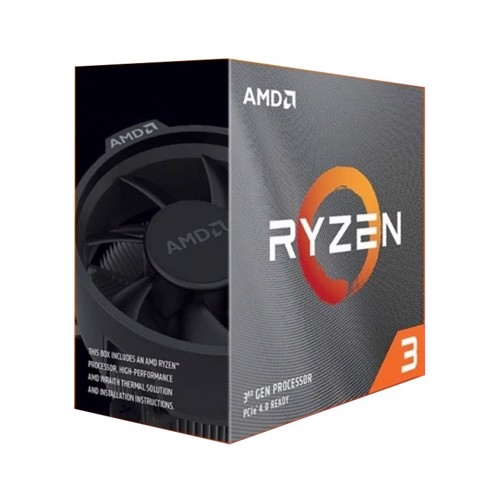 AMD RYZEN 3 3100 (3.6GHz Up to 3.9GHz, AM4, 4 Cores 8 Threads) Box Chính Hãng