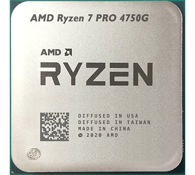 AMD Ryzen 7 PRO 4750G MPK (3.6 GHz turbo upto 4.4GHz / 12MB / 8 Cores, 16 Threads / 65W / Socket AM4)