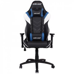 Anda Seat Assassin Black/Blue V2 – Full PU Leather 4D Armrest Gaming Chair