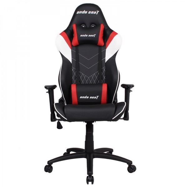 Anda Seat Assassin Black/Red V2 – Full PU Leather 4D Armrest Gaming Chair