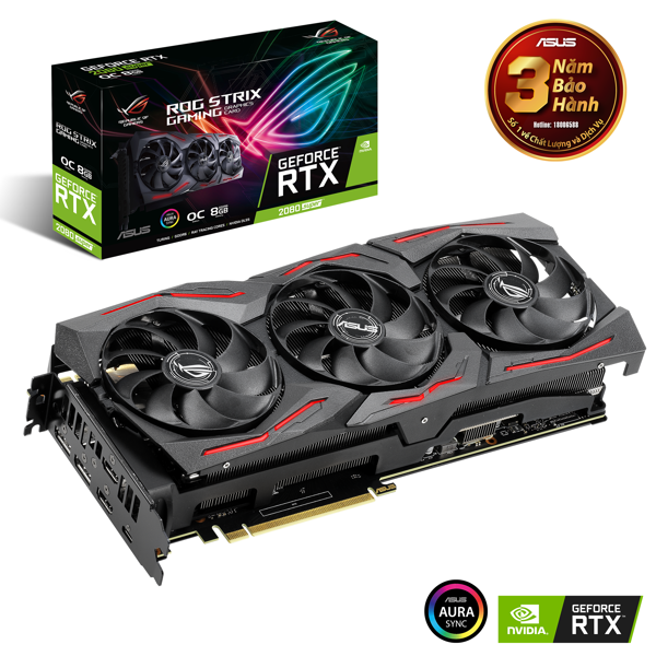 Asus ROG Strix GeForce® RTX 2080 SUPER™ OC edition 8GB GDDR6