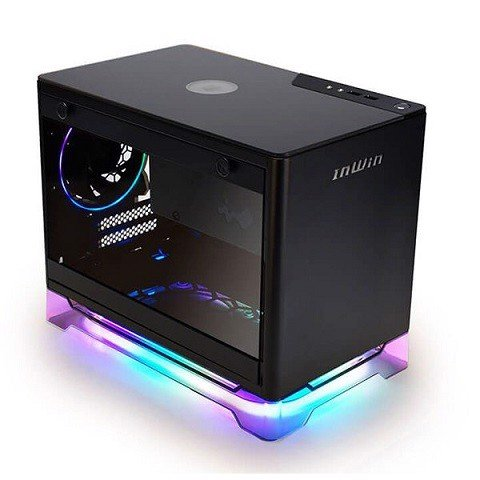 Case INWIN A1 Plus (ITX) ( White/ Black) Tặng nguồn INWIN 650W 80 PLUS Gold