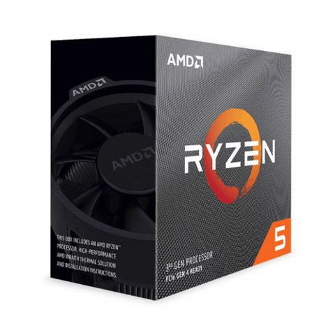 CPU AMD Ryzen 5 PRO 4650G MPK (3.7 GHz upto 4.2GHz/ 6 Cores, 12 Threads) Tray
