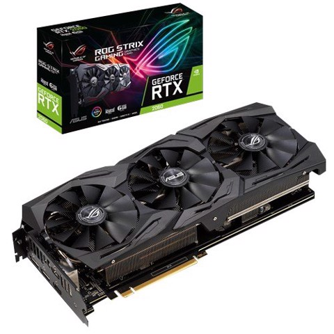 Asus Rog Strix Geforce® RTX 2060 Oc Edition 6GB Gddr6