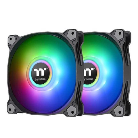Fan case Thermaltake Pure Duo 12 ARGB Sync Radiator Fan (2-Fan Pack) - Black