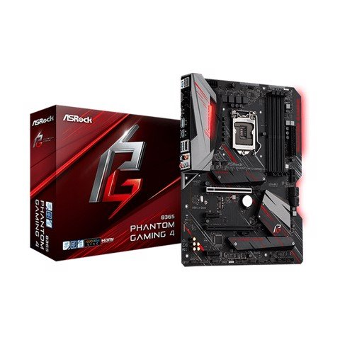 Asrock B365 Phantom Gaming 4 (Chipset Intel B365/ Socket LGA1151/ VGA onboard)