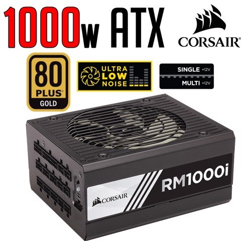 Corsair Rm1000I 80 Plus® Gold Fully Modular