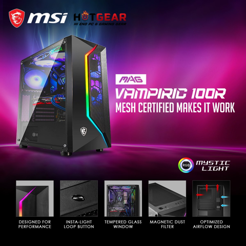 Bộ PC HOTGEAR INTEL I7 8700 / DDR4 16GB / GTX 1650 4GB / SSD M.2 180GB