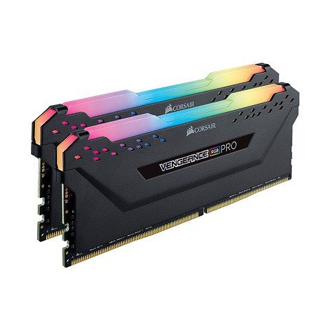 Corsair Vengeance RGB Pro 16GB (2x8GB) DDR4 3200MHz C16 Black