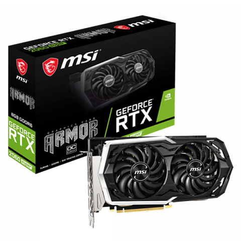 MSI RTX 2060 SUPER ARMOR OC 8GB GDDR6