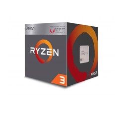 CPU AMD Ryzen 3 2200G 3.5 GHz (3.7 GHz with boost) / 6MB / 4 cores 4 threads / Radeon Vega 8 / socket AM4