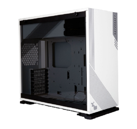 Case InWin 103  - Full Side Tempered Glass (Black/White)
